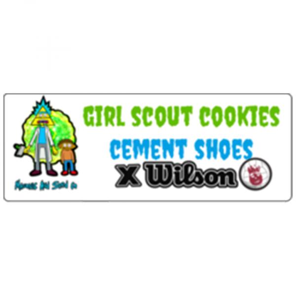 GSC Cement Shoes X Wilson
