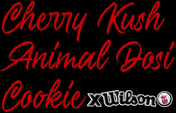 Cherry Kush Animal Dosi Cookie X Wilson