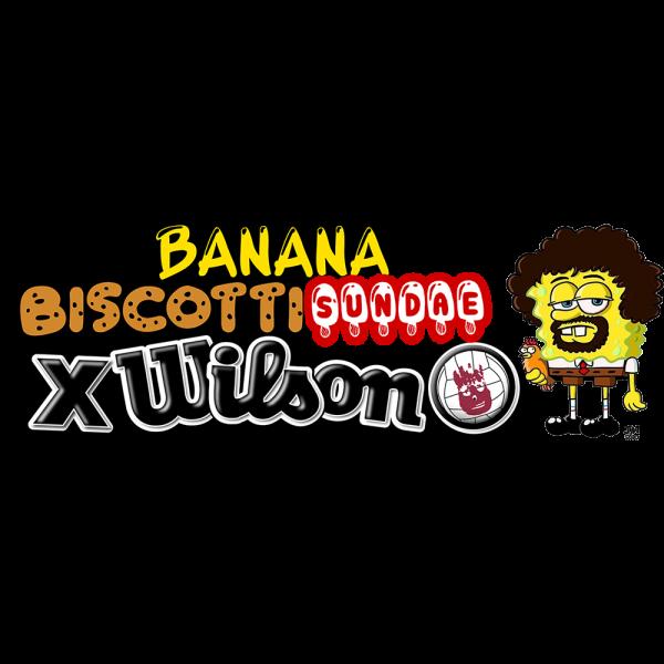 Banana Biscotti Sundae X Wilson