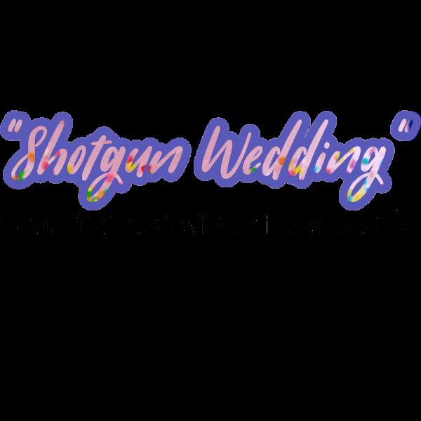 """Shot Gun Wedding"" ( Wedding Cake Wilson F1 X Wilson F2)"