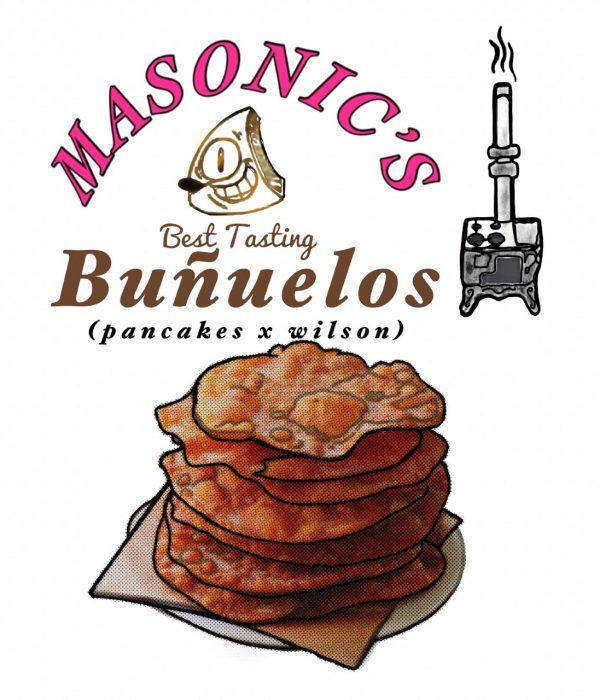 """""""Buñuelos"""" (Pancakes x Wilson)"""