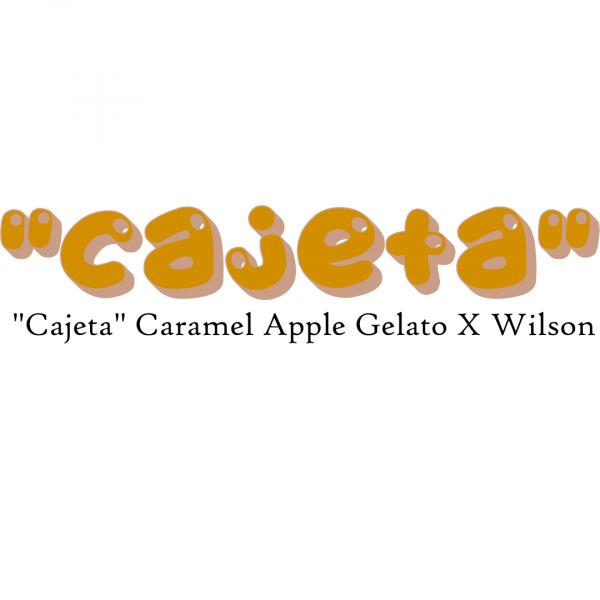 """""""Cajeta"""" Caramel Apple Gelato X Wilson"""