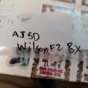 AJSD Wilson F2 Bx